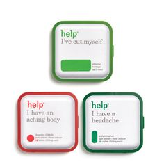 Help I Had a Big Night Out Kit - Such a cute idea by Help Remedies! Eco friendly packaging AND they donate 5% of their profits to healthcare for uncovered children in the US.