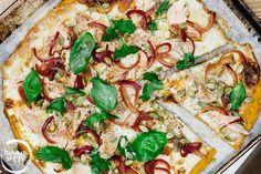 Sweet Potato Pizza Crust | Pizzapohja bataatista | Hannan soppa