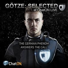 Aliens have challenged Earth to one ultimate football game, and the German Phenom Mario Götze joins GALAXY 11 to save us from aliens! Stay tuned at of the ChatON LIVE. Gotze play in bayern Lionel Messi, Mario, Challenges, Bavaria