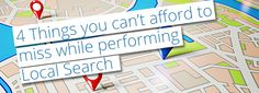 4 Easy Steps to Make Your #LocalSearch Successful