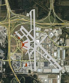 Overlay map, Greater Southwest International Airport