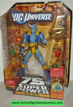 dc universe classics BLUE DEVIL wave 13 trigon series moc mip mib new action figures