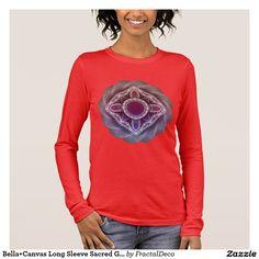 Bella+Canvas Long Sleeve Sacred Geometry Long Sleeve T-Shirt