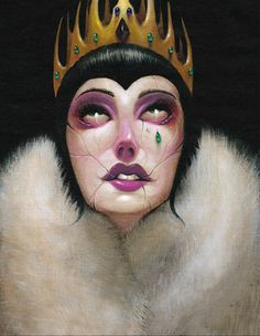 ☆ The Evil Queen from Snow White :¦: Artist Steven Daily ☆