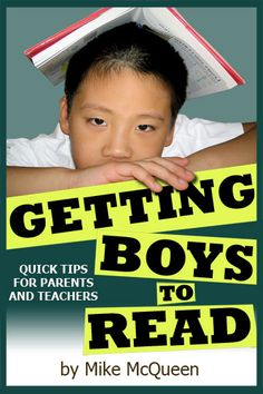 My son hates to read! Great article on how to help boys to actually pick up a book, read it, and like it!