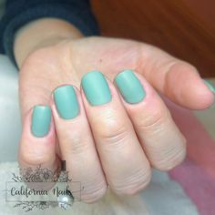 """🍃Matte Sage🍃 @cndworld Shellac in """"Sage Scarf"""" with a matte topcoat Don't forget 15% off all shellac manicures during the entire month of November 🤩 • • • • • #Californianails #nails #negler #naglar #ølen #vindafjord #norge #norway #nailart #nailinspo #beauty #nailsofinstagram #nailstagram #notd #instanails #instagood #nailpro #naildesign #pronails #notpolish #mattenails #matte #shellac #shellacnails #shellacmanicure #naturalnails #cndshellac #haugesundnegler #haugesund #rogaland Shellac Manicure, Matte Nails, Manicures, California Nails, Topcoat, Nail Pro, Nail Inspo, Natural Nails, Norway"""