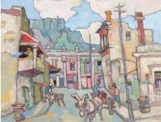 Fan account of Raoul Dufy, a French Fauvist painter. Post Impressionism, Impressionist Art, City Landscape, Landscape Paintings, Raoul Dufy, South African Artists, Art Database, Artist At Work, Love Art