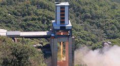 North Korea tests suspected ICBM rocket engine