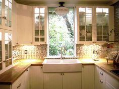 laurieanna vintage home small kitchen big surprises sink cabinets renovated middle class kitchen