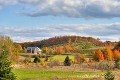 ... rolling hill farm scene | by Ken Scott