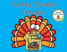 2 activities to go along with the book, Turkey Trouble. Use the picture cards for retelling the story. Use the turkeys on the mat to show numerals 11-20.
