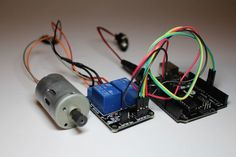 Picture of DIY: Relay switch motor controller – Arduino - News Technology Electronics Gadgets, Electronics Projects, Electrical Projects, Tech Gadgets, Arduino Motor, Arduino Programming, Ray Bans, Smartphone, Arduino Projects