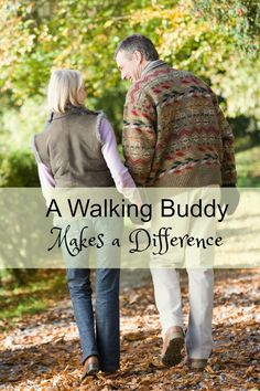 Having a Walking Buddy Makes a Difference. Know why!