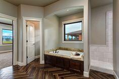 HIGHLAND HOMES | custom home in Eagle, Idaho - Master Bathroom