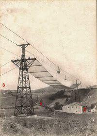 Km 130: Tranvía aéreo y lavadero de mineral de la Orconera Pulley, Utility Pole, Basket, Easel, Laundry Rooms, Tiles, Minerals, Catania, Cable Machine