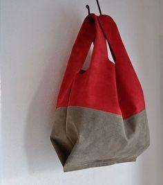 Newest Photo sewing bags grocery Style Diy Handbag, Art Bag, Boho Bags, Linen Bag, Simple Bags, Fabric Bags, Cotton Bag, Handmade Bags, Fashion Bags