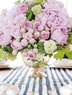Peonies & roses by VoyageVisuel
