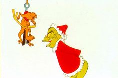 Pictures from 'How the Grinch Stole Christmas': Max and The Grinch