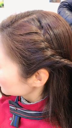hairstyles for long hair videos Simple twist braid Long Hair Video, Long Wavy Hair, Braids For Long Hair, Easy Hairstyles For Long Hair, Little Girl Hairstyles, Braided Hairstyles, Dance Hairstyles, Braided Updo, Curly Hair Styles