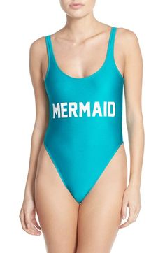 Private Party 'Mermaid' One-Piece Swimsuit available at #Nordstrom