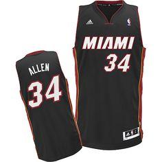 cc02140fa46f Adidas NBA Miami Heat 6 LeBron James New Revolution 30 Miami Swingman Road Black  Jersey