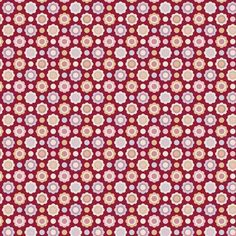Tilda Candy Bloom Fat Quarter Aimee Red - PRE ORDER NOW FOR MID MAY - Tilda Candy Bloom LIMITED EDITION - Tilda Collections - Tilda Crafts