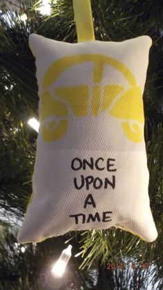 Once Upon a Time Christmas Ornament on Etsy