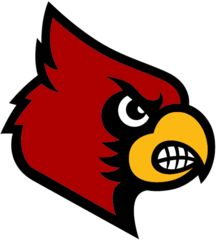 Cardinals, University of Louisville (Louisville, Kentucky) Div I, 1st Conf: Atlantic Coast  #Cardinals #Louisville #NCAA (L6181)