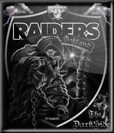 Dark side Oakland raiders