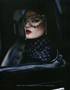 Model Kirsi Pyrhonen. Photography by Sergi Pons