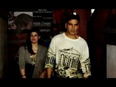 Akshay Kumar with wife Twinkle Khanna on a movie date at Juhu PVR. Twinkle Khanna, Movie Dates, Akshay Kumar, You Videos, Interview, Graphic Sweatshirt, Sweatshirts, Youtube, Movies