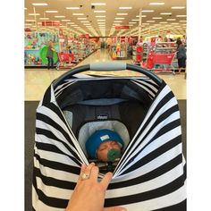 You are sure to get all your grocery shopping done when your baby has a HUSH Hat! Finally we won't be the ones causing a scene with their crying baby!