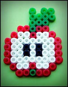 15 Best Fun Perler Beads Designs Easy To Get Started Hama Beads Design, Diy Perler Beads, Perler Bead Art, Melty Bead Patterns, Hama Beads Patterns, Beading Patterns, Pixel Beads, Fuse Beads, Motifs Perler