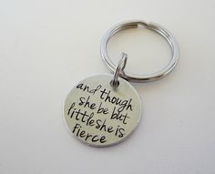 Hand Stamped and though she be but little she is by kimgilbert3