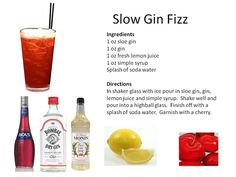 ... Gin Fizz | Vintage Cocktails | Pinterest | Gin Fizz, Gin and Cocktails