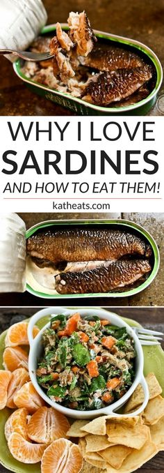 Why I love sardines – and recipe ideas for how to eat them! Why I love sardines – and recipe ideas for how to eat them! Fish Recipes, Seafood Recipes, Whole Food Recipes, Cooking Recipes, Healthy Recipes, Keto Recipes, Vegetarian Recipes, How To Eat Sardines, Recipe For Sardines