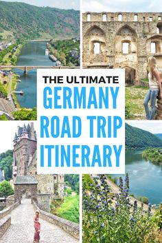 The Ultimate 10 day German Road Trip Itinerary. Click the pin to read the post from www.flirtingwiththeglobe.com