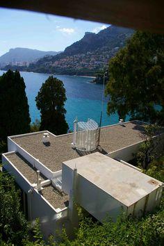 EXCEPTIONAL HOUSES - Eileen Gray, Villa E.1027, Roquebrune-Cap-Martin, France.