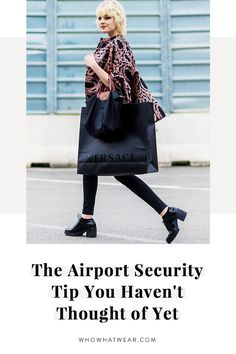 There's one thing you might not know about airport security—this is it