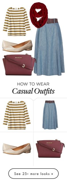 """casual day"" by carisaluisa on Polyvore featuring Miu Miu, Toast, Calvin Klein, MICHAEL Michael Kors, women's clothing, women's fashion, women, female, woman and misses"