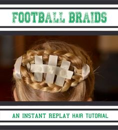 Ruffled Sunshine: Football Hair:: An instant replay tutorial