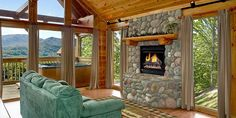 Unplug with these 4 Cabin Rentals in the Smoky Mountains | Vacation Differently
