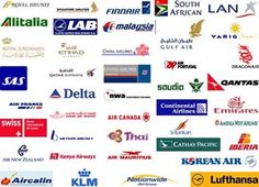 Airline Logos of the World with Names Animated Logo Video Tools at www.assuredprofits.com/videotools