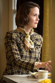 Carol's Production Designer Reveals How to Achieve Cate Blanchett Chic   Still of Sarah Paulson in Carol