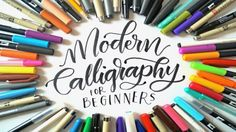 This faux calligraphy tutorial will teach you an amazingly useful and trendy skill that makes for a great gift or artwork for your home!