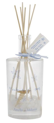Amélie & Mélanie - J'entends la Mer - Fragrance diffuser ml) Sun Tan Oil, Shops, Perfume, The Fresh, Bottle, 4 Months, Fragrances, Candles, Water Lilies
