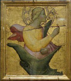 Saint Margaret and the Dragon AGNOLO GADDI (1350 circa – 15 ottobre 1396)   #TuscanyAgriturismoGiratola