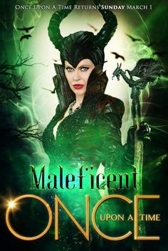 Maleficent back to Once upon a time