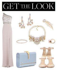 """""""Get the Look: Met Gala 2016"""" by cassiessins on Polyvore featuring Jenny Packham, Giuseppe Zanotti, Erickson Beamon, Valentino, Carolee, Marchesa, Gucci, LeiVanKash, GetTheLook and MetGala"""