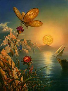 Admire as Incríveis Pinturas Surrealistas de Vladimir Kush